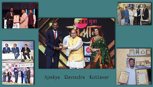 Ajinkya Kottwar Awards Achievement.