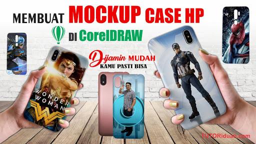 Desain Mockup Case HP dengan CorelDraw