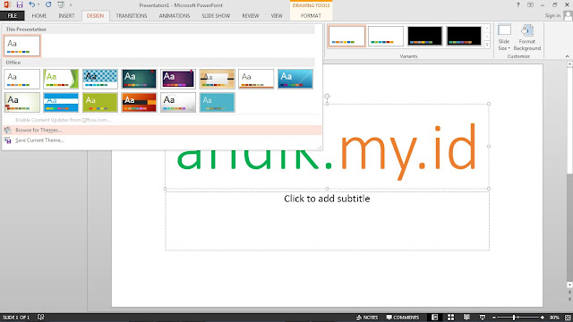 tutorial, powerpoint, microsoft office, desain powerpoint,