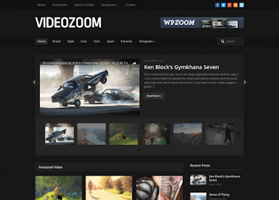 Videozoom 4.0 Video WordPress Theme - WPZOOM Free Download