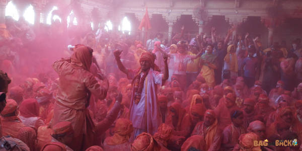 holi in barsana