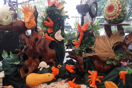 "INDONESIA MERDEKA ""FRUIT CARVING COMPETITION 2017"""
