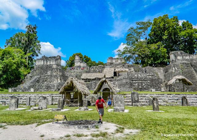 Acrópole Norte, Tikal, Guatemala