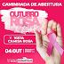 Grande Caminhada do Outubro Rosa será nesta sexta-feira (04/10) em Eunápolis