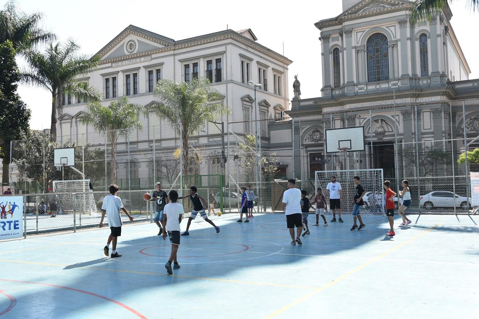 d45bb043cf Colégio Liceu Coração de Jesus promove esporte e conscientização para  jovens do Nova Luz