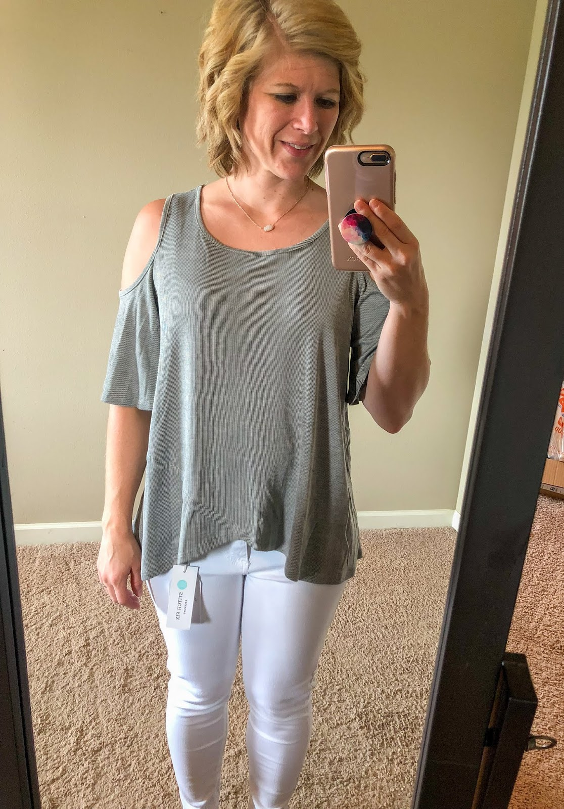 1147714b297e36 My Very First Stitch Fix Review - June 2018 - Poppy + Grace