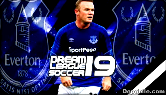 DLS19 Everton Takım ve 2020 Formaları Yaması Yüzlük ve Normal