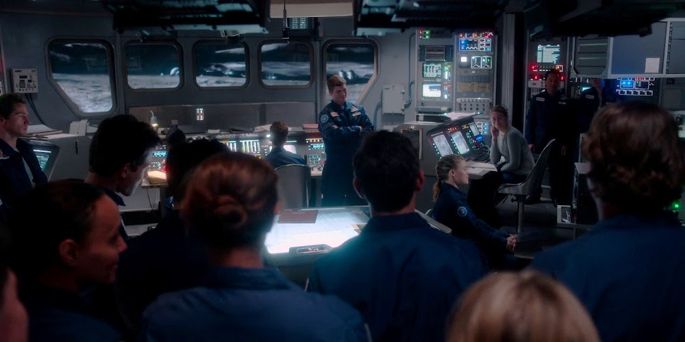 Jamestown US Moon base interior in season 2 of 'For All Mankind'