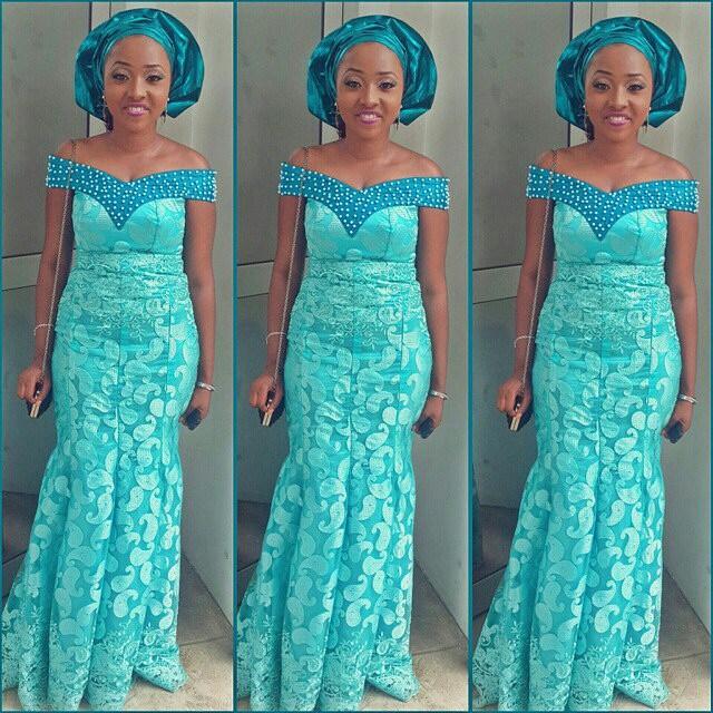 Amazing Nigerian Lace Gown Styles for Cute Ladies - DeZango Fashion Zone