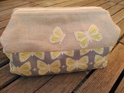costura, couture, sewing, boxy bag, retreat bag, cosmetique pochette, bolsa aseo, bolsa maquillaje