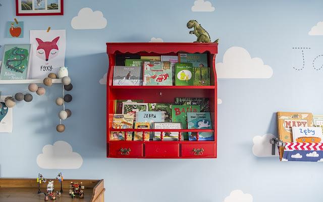 Biblioteczka w chmurach i nasze ulubione książki - CZYTAJ DALEJ