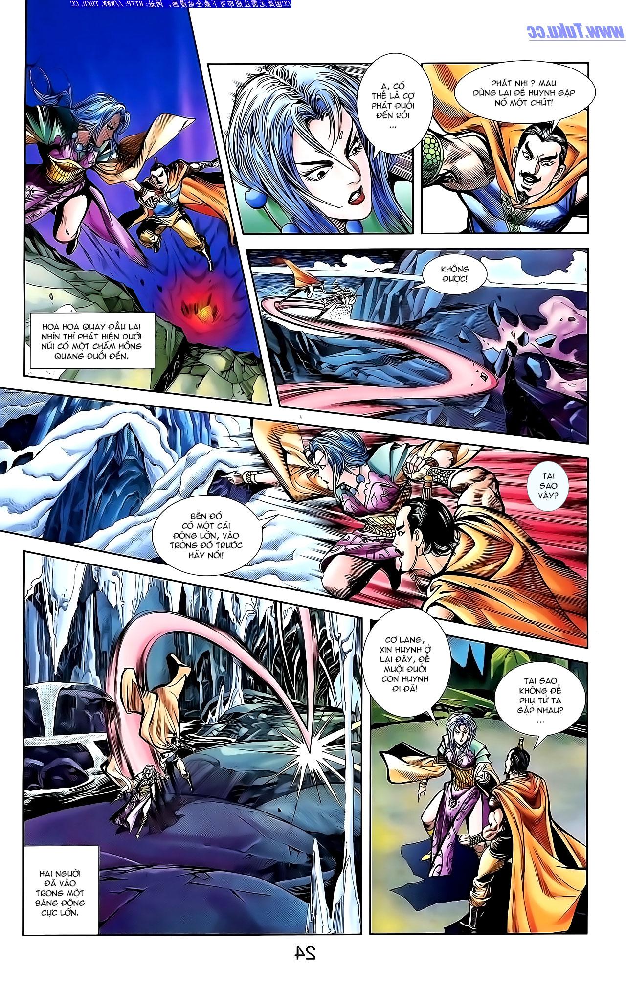 Cơ Phát Khai Chu Bản chapter 143 trang 4