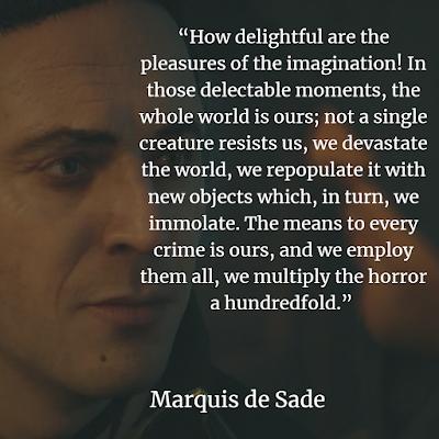 Top Marquis de Sade lustful Quotes