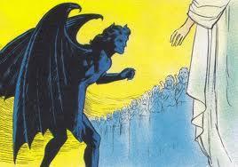 filhos de Deus. A vida de Jó está prestes a entrar nos assuntos celestiais à medida que o cenário muda da terra para o céu, onde Deus está tendo uma conferência com sua corte celestial. Jó e seus amigos jamais souberam desse fato.