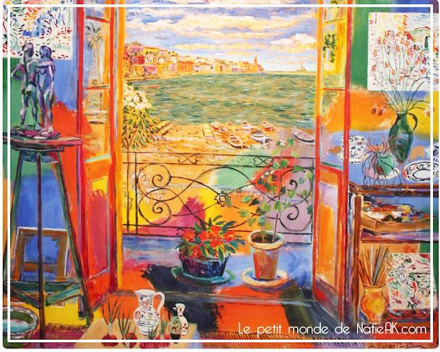 atelier de Matisse par Damian Elwes