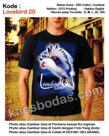 Kaos Lovebird 20