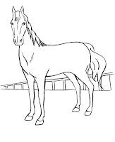 תמונות סוסים לצביעה