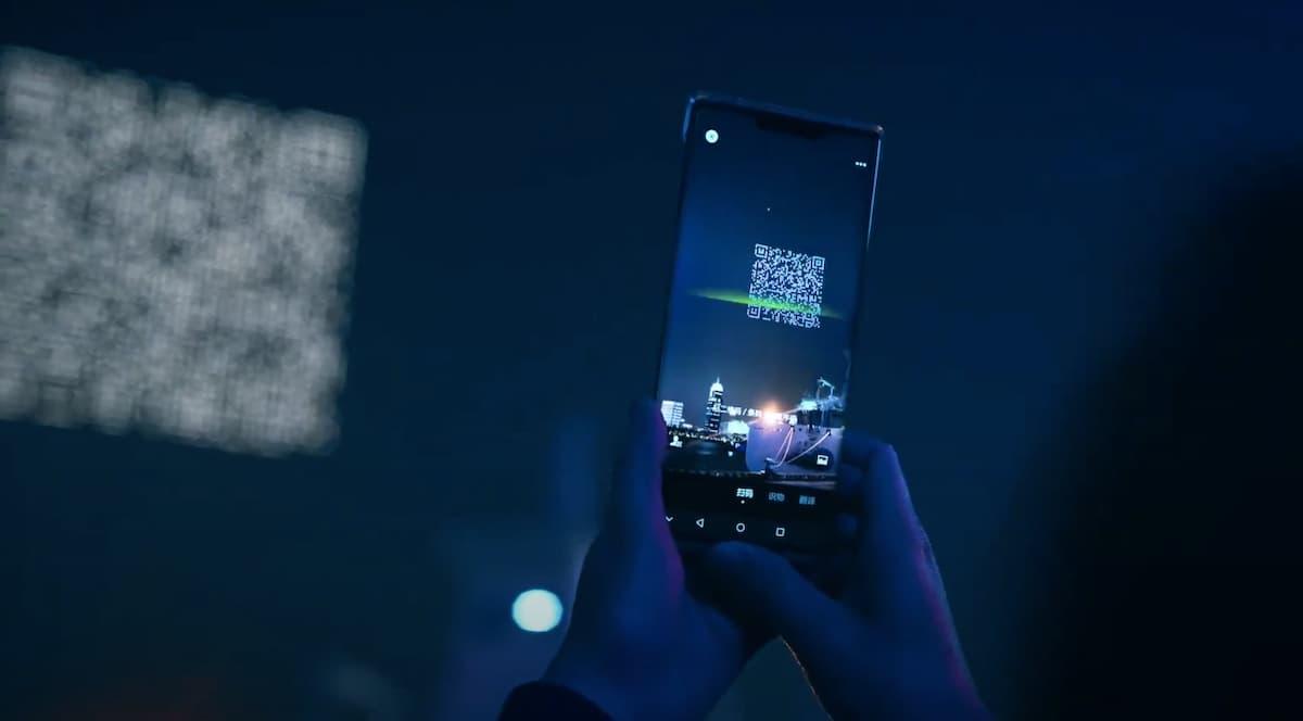Blade Runner Vision in Real Life | In Shanghai zeigen Drohnen QR Codes am Himmel