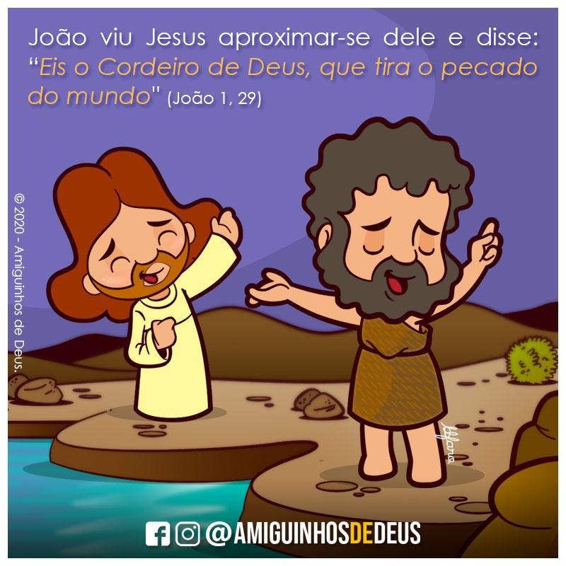 2º Domingo do Tempo Comum ANO A João 1,29-34