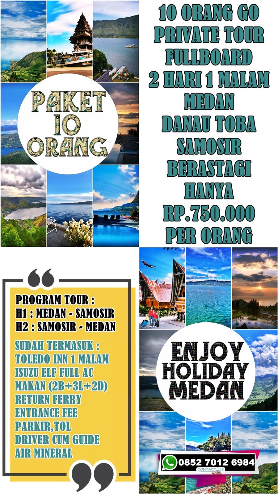 Open Trip Danau Toba