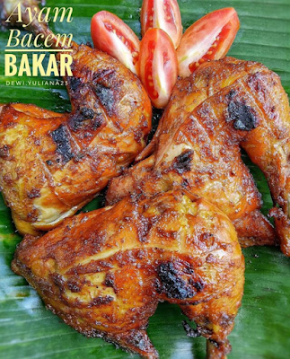 Resep Ayam Bakar Bumbu Bacem