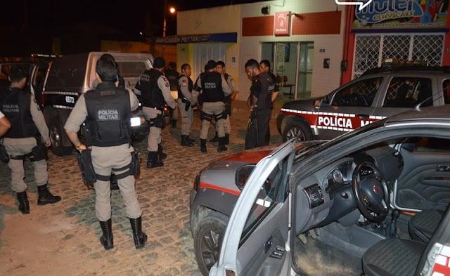 Homem é morto a tiros durante tentativa de assalto a agência bancária no Sertão
