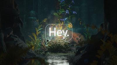 Greeting, Word, Neon, Light, Nature, Flowers