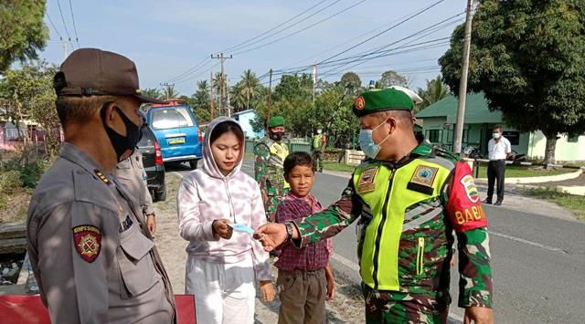 Dalam Rangka Operasi Keselamatan Toba 2021 Turut Dilaksanakan Personel Jajaran Kodim 0207/Simalungun
