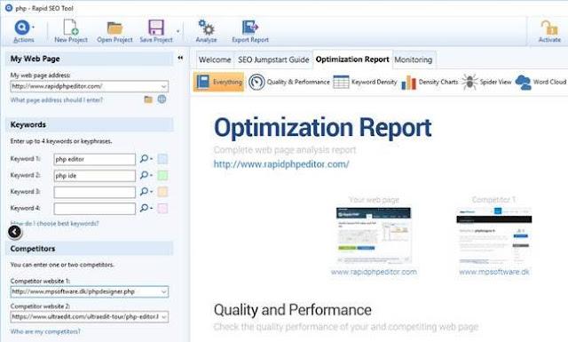 Screenshot Blumentals Rapid SEO Tool 2.10.0.20 Full Version