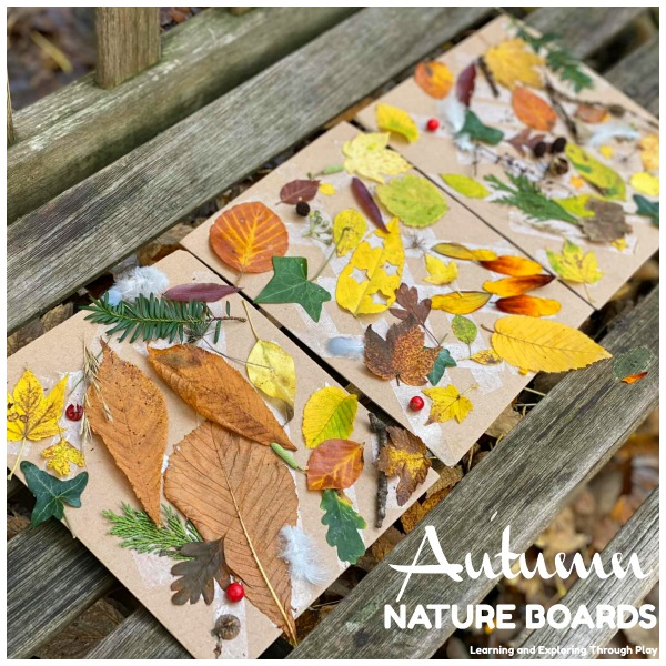 Nature Collage Boards