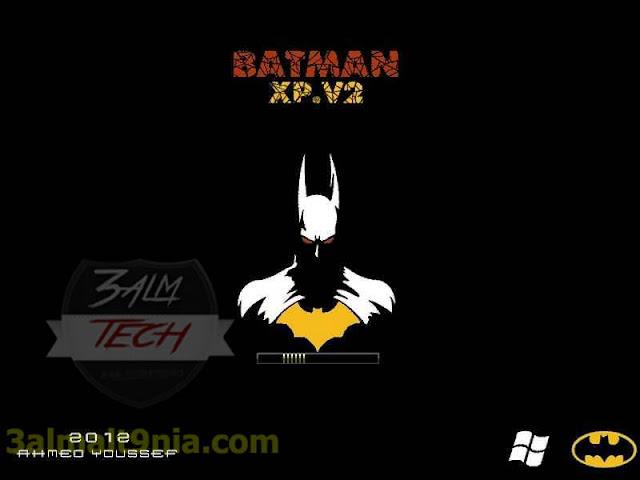 ويندوز إكس بى باتمان 2  Windows Xp SP3 batman v2