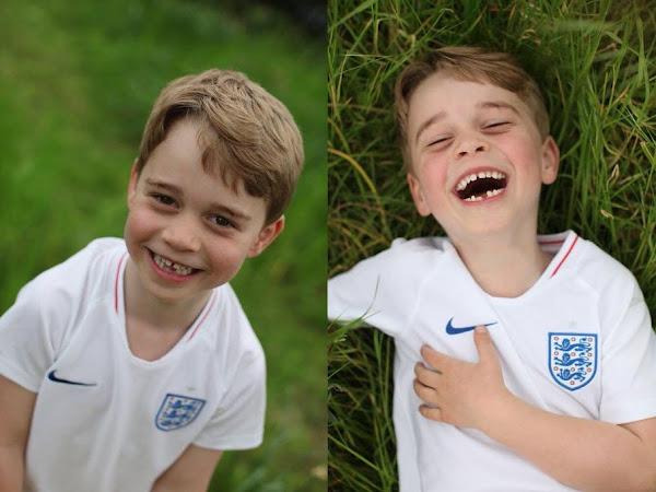 3 nowe zdjęcia księcia George'a z okazji jego 6 urodzin!