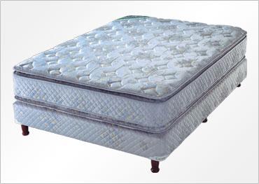 ad6ed6a143d Mantas interiores de espuma de alta densidad. • 7 patas de madera. •  Opcional sin Pillow Top • Altura total del conjunto