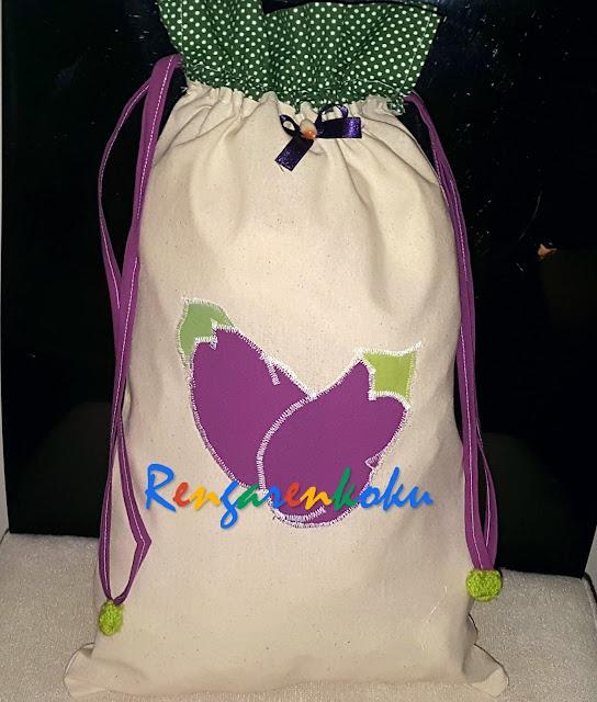 kuru patlıcan torbası