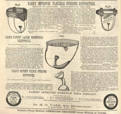Farr's Patent Ladies' Menstrual Receptacle
