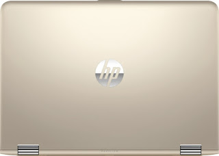 Gold color of laptop