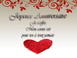 Sms D Amour Joyeux Anniversaire Mon Amour Message Et Mots D Amour