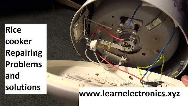 electric rice cooker repair