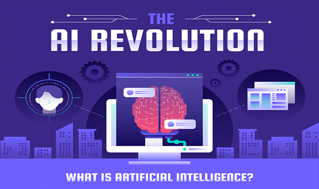 AI Statistics About Smarter Machines #infographic