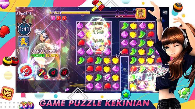 ayodance puzzle gameplay