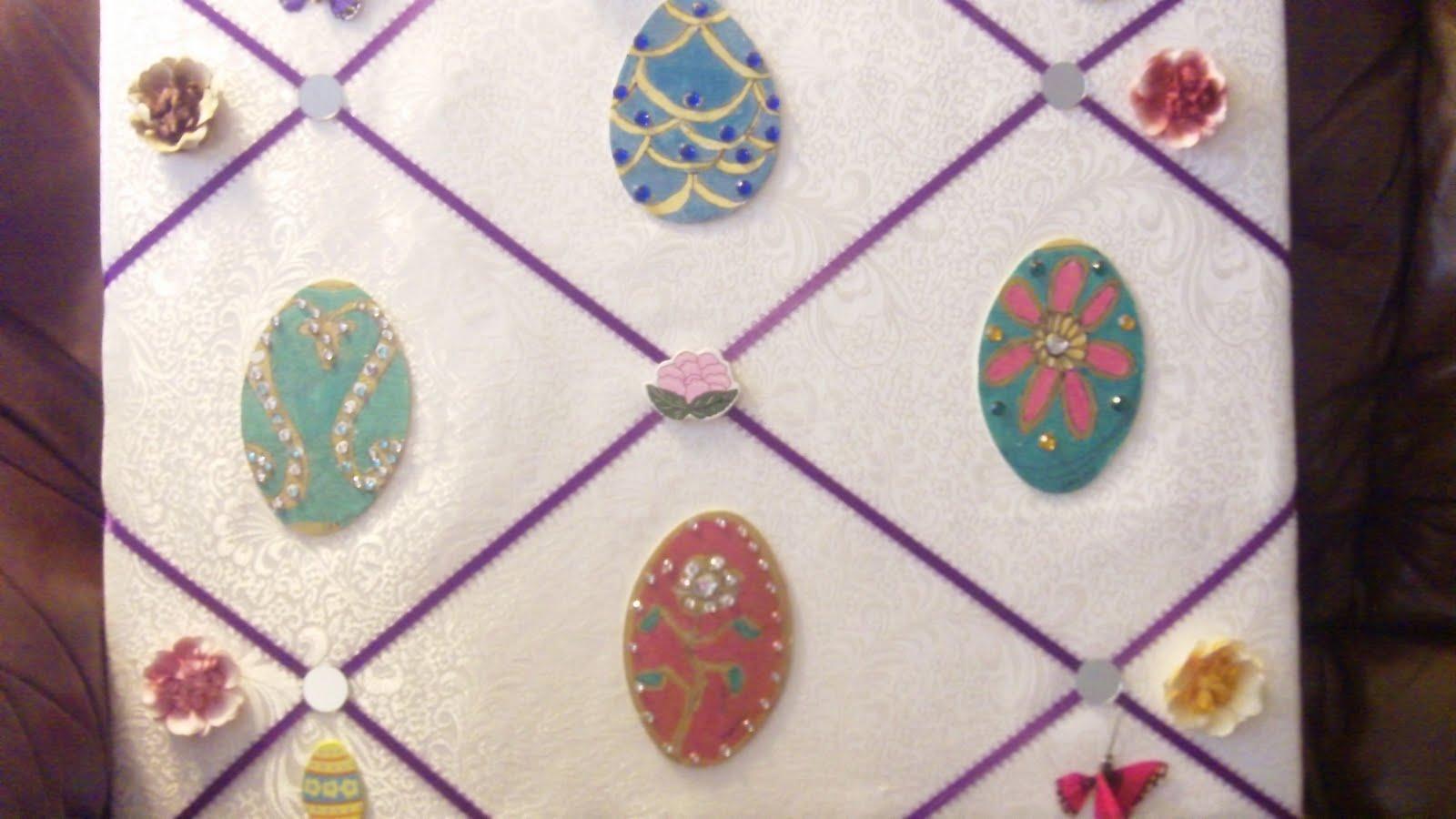 ConfuzzledDesigns: Easter Door Decor!