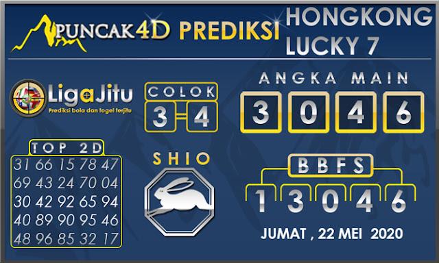 PREDIKSI TOGEL HONGKONG LUCKY 7 PUNCAK4D 22 MEI 2020