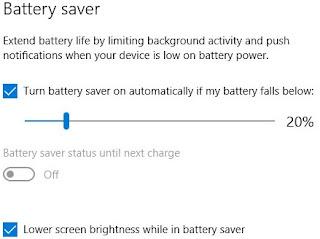 Secara otomatis menyesuaikan kecerahan untuk meningkatkan masa pakai baterai