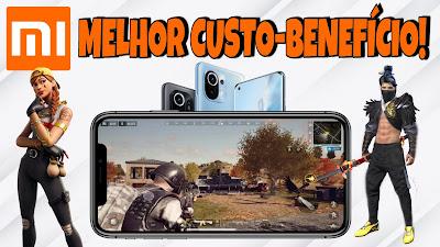 Celulares Xiaomi baratos para jogos