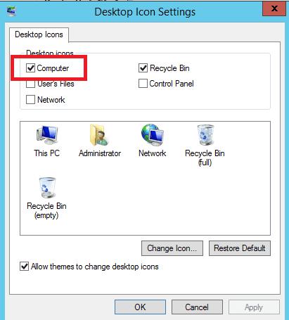 show my computer icon desktop