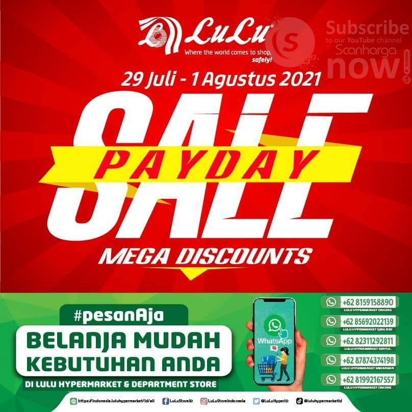 Katalog Promo Lulu Jsm Weekend 29 Juli - 1 Agustus 2021