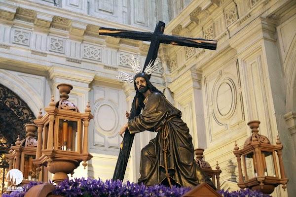 'El Nazareno del Sagrario', nueva marcha del Cristo de la Corona con motivo del Vía Crucis de las Cofradías de Sevilla 2021