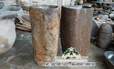 Pedestal Batu Alam Murah, Pedestal Batu Kali, Pedestal Batu Kali Berkualitas
