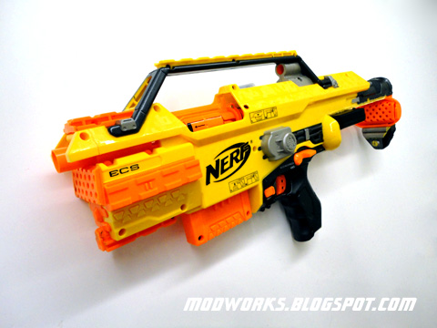 Mod Works Nerf Stampede Quot Smg Quot Conversion