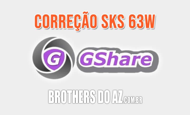 Correção 63w gshare